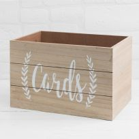 Love Story MDF Card Box